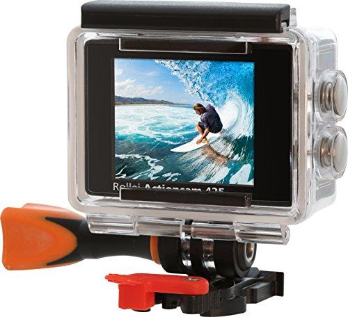 rollei actioncam 425 4k 2160p unterwassergeh use f r. Black Bedroom Furniture Sets. Home Design Ideas